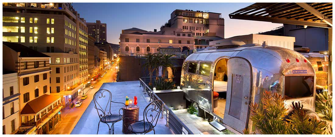View from our Cape Town Boutique Hotel